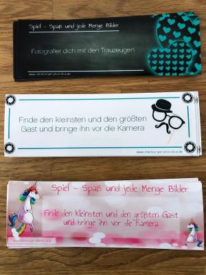 Photobox Aufgabenkarten