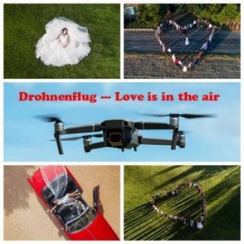 Hochzeitsbilder mal anders ... Love is in the air 2021